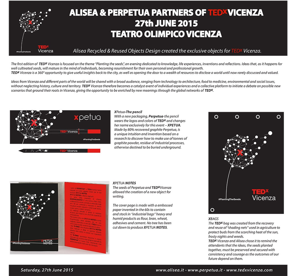 Alisea TedXVicenza